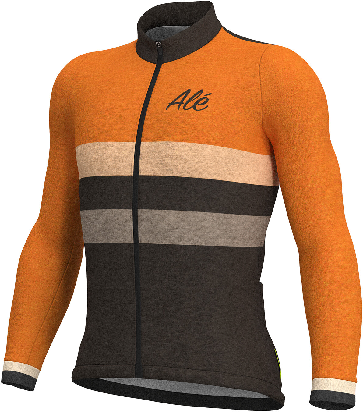 Alé Cycling Classic Vintage Bike Jersey Longsleeve Men orange black ... dee0718fa